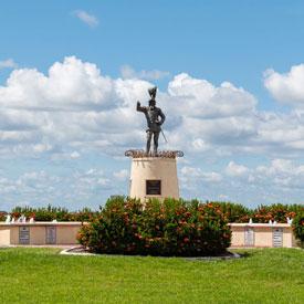Punta Gorda Ponce de Leon Statue