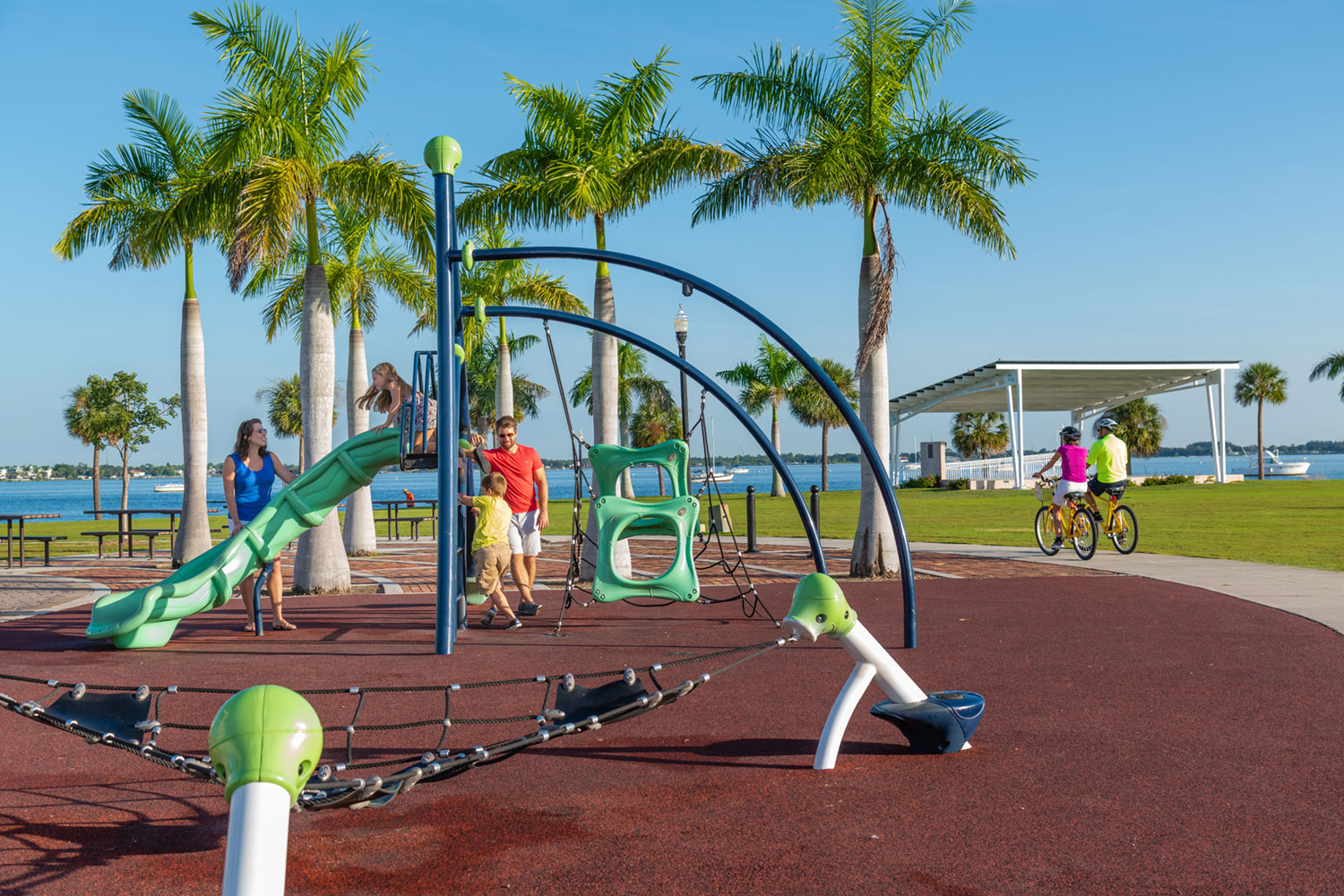 Punta Gorda Family Playground Laishley Park