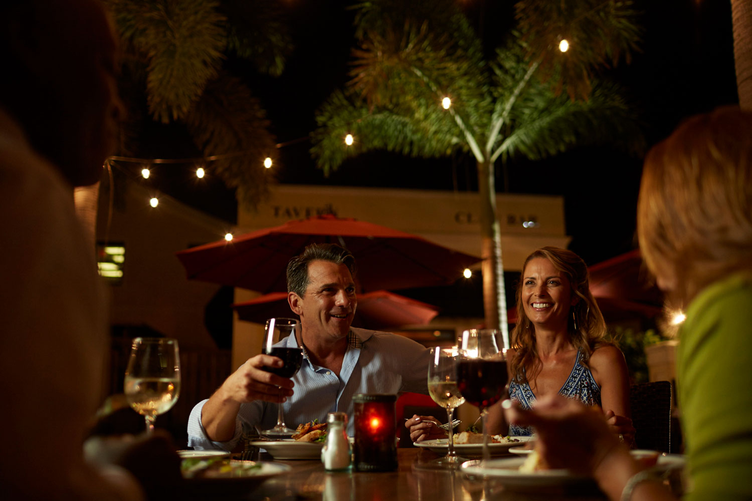 Punta Gorda Dining Couple