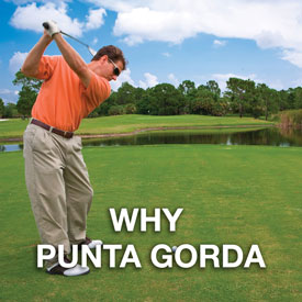 Why Punta Gorda Button - Golfer