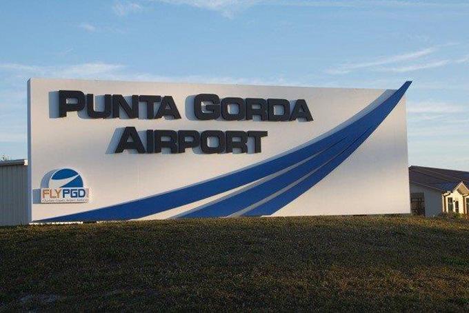 Punta Gorda Airport Sign