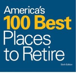 America's 100 Best Places to Retire graphic